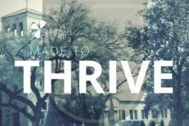 Live and thrive. We are not meant to merely survive but to reach the highest potential God has planted in us.